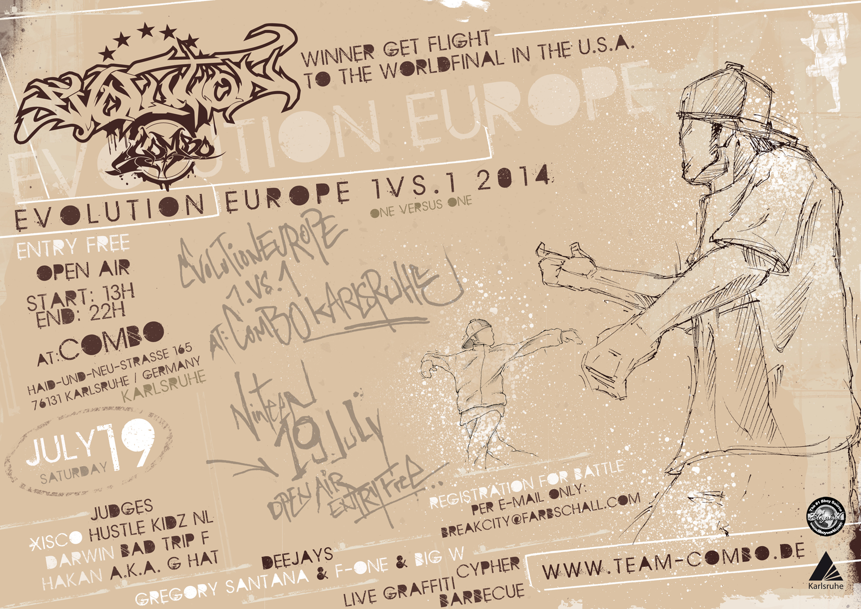 Evolutiopn Europe 2014